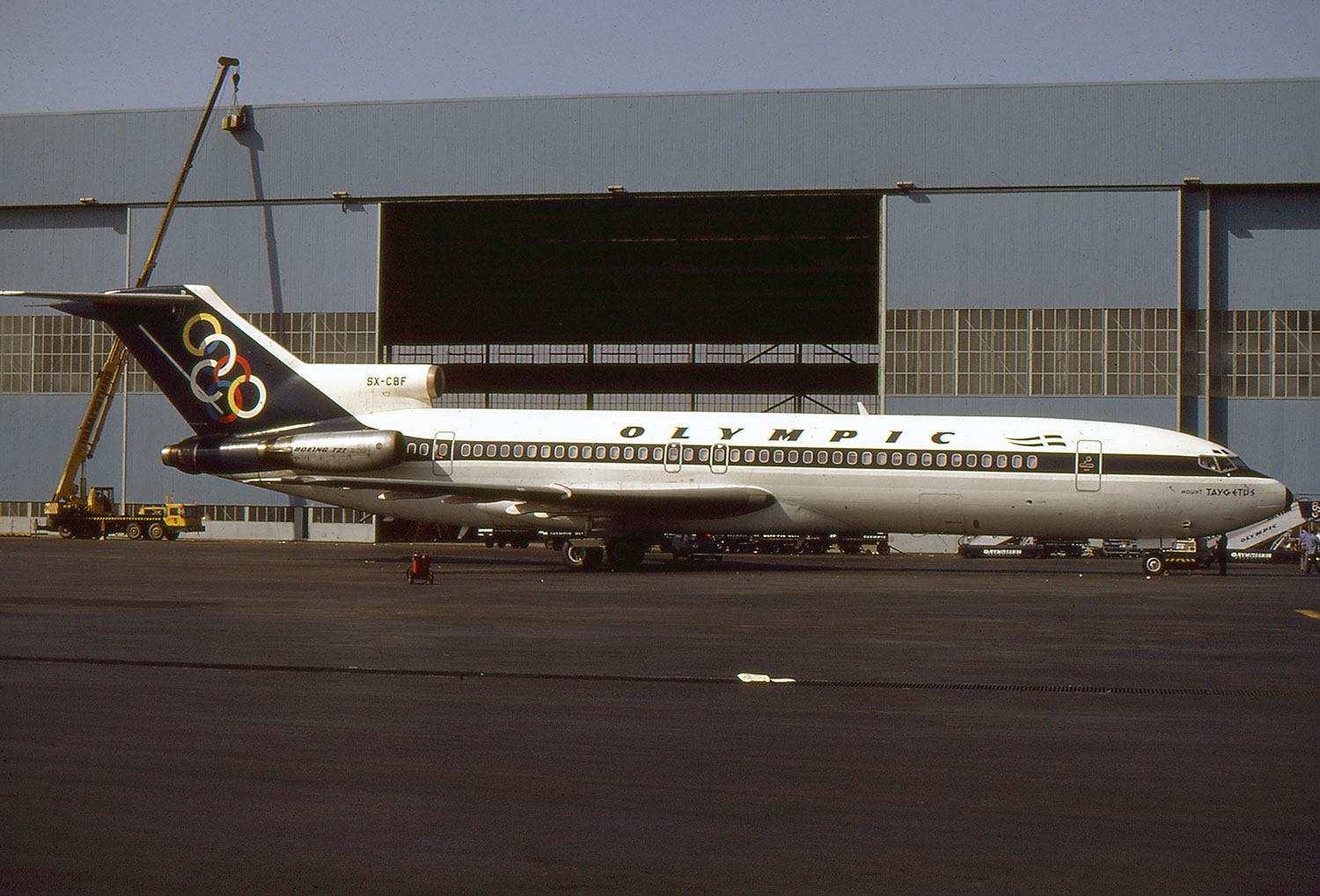 Olympic Boeing 727