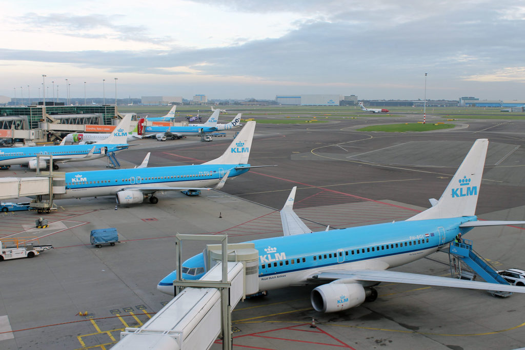 Amsterdam Schiphol Panorama Terrace