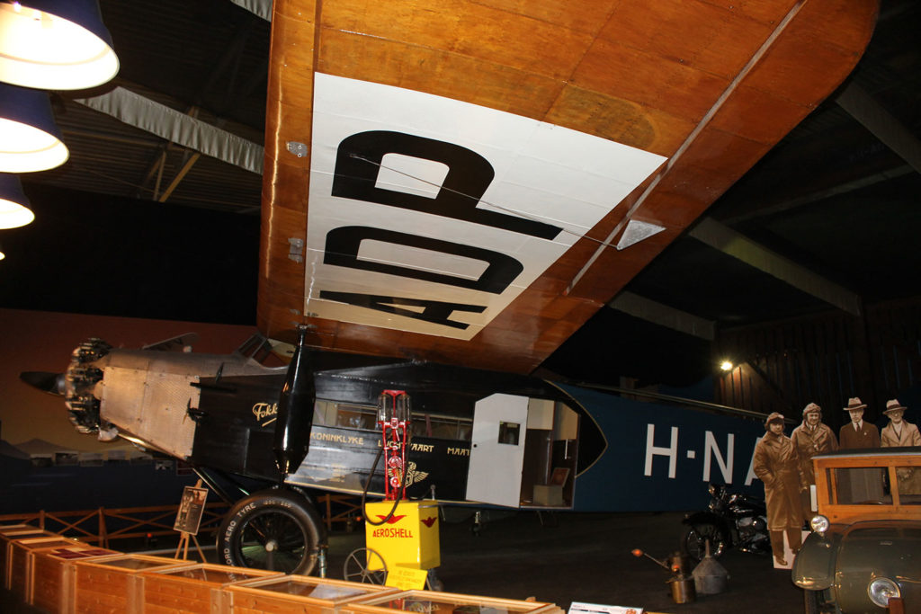 H-NADP Preserved Airliners in the Netherlands
