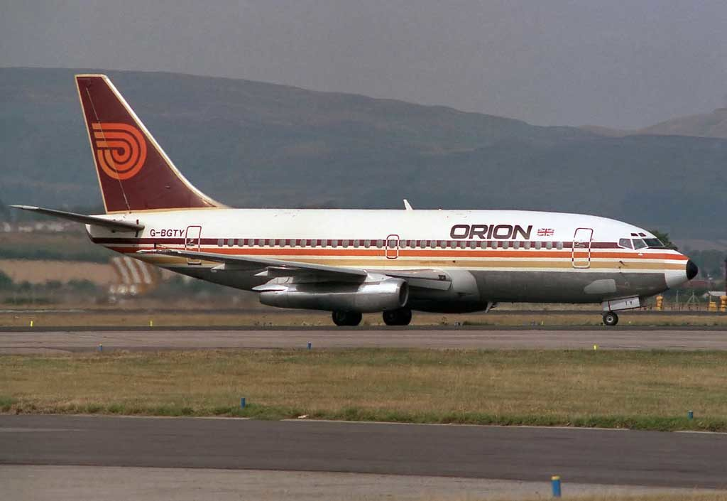Orion Airways 737