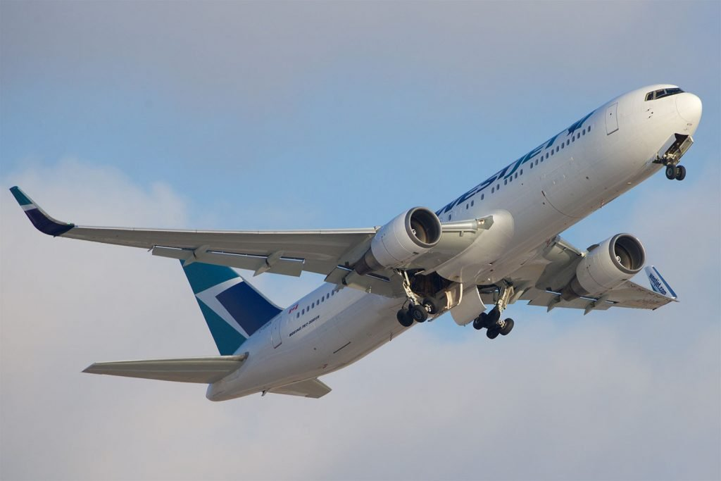 By BriYYZ from Toronto, Canada (WestJet Boeing 767-300ER C-GOGN) [CC BY-SA 2.0 (http://creativecommons.org/licenses/by-sa/2.0)], via Wikimedia Commons