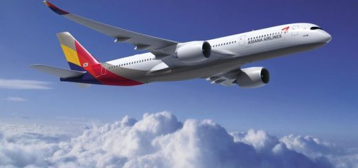asiana airbus a350 routes