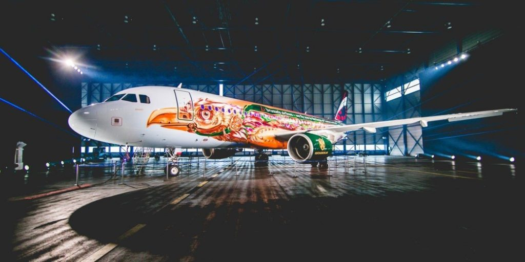 Brussels Airlines Tomorrowland A320