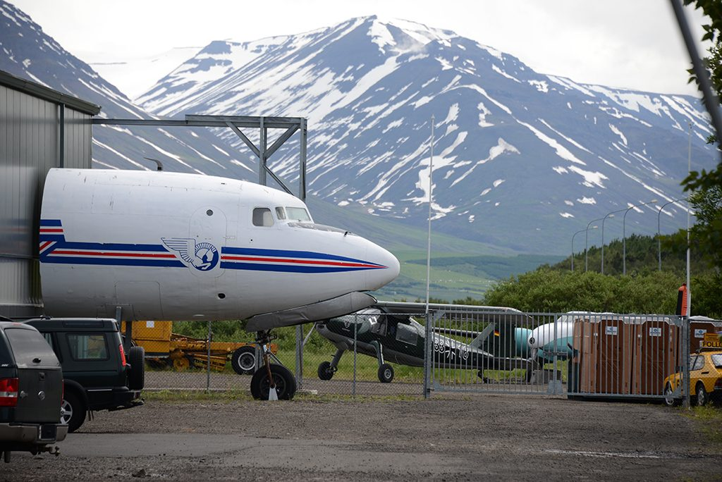 Icelandic Aviation Museum DC-6