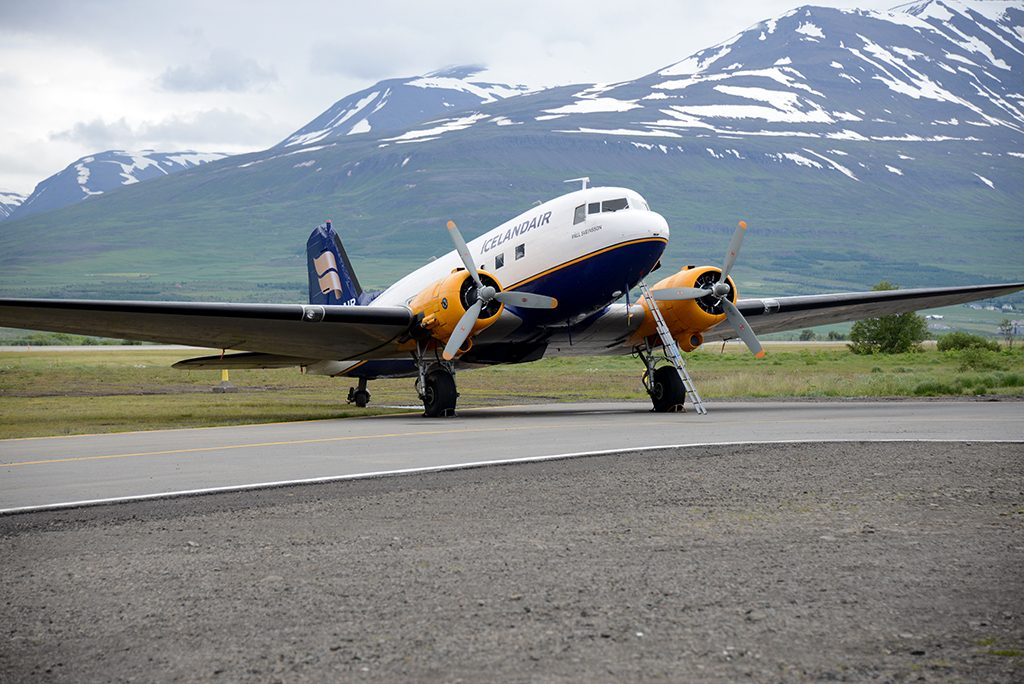 DC-3 at the Icelandic Aviation Museum
