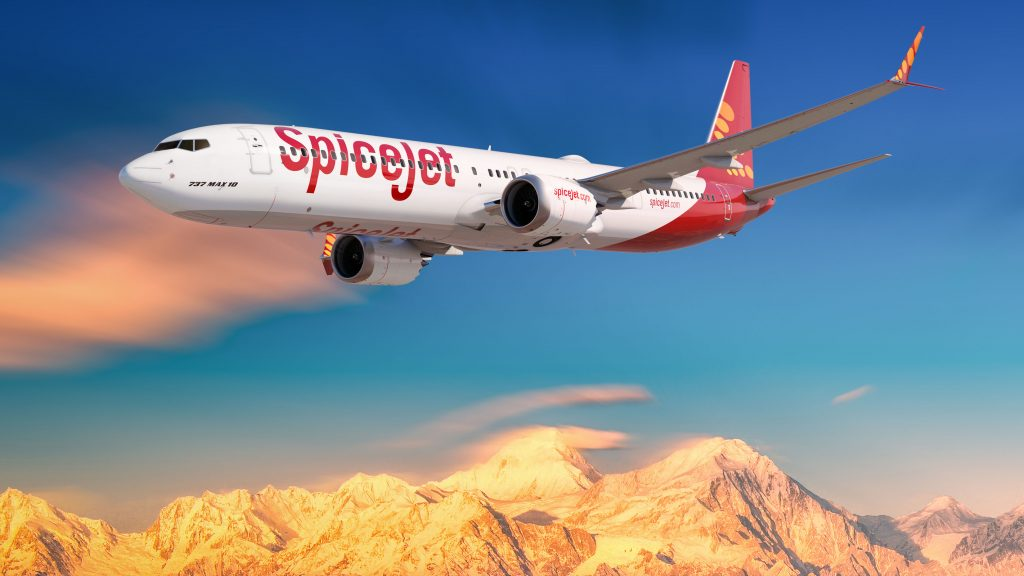 SpiceJet 737 MAX 10