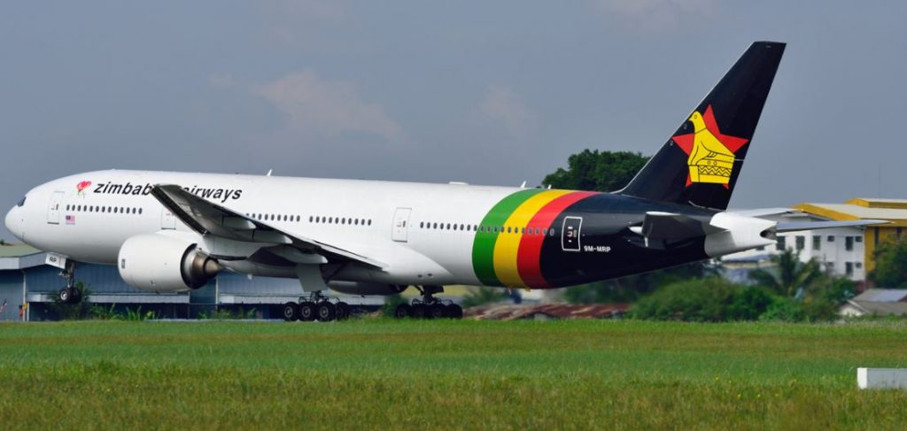 Zimbabwe Airways 777