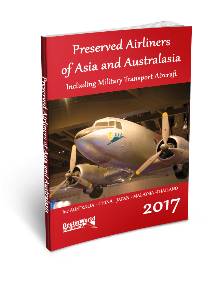 preserved airliners asia australasia