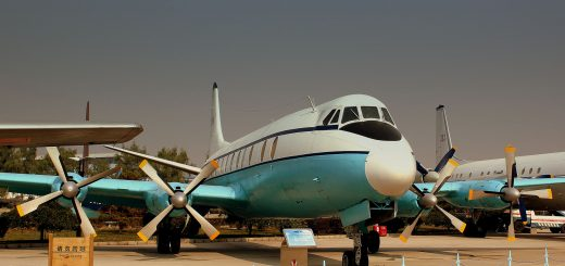 preserved airliners asia china