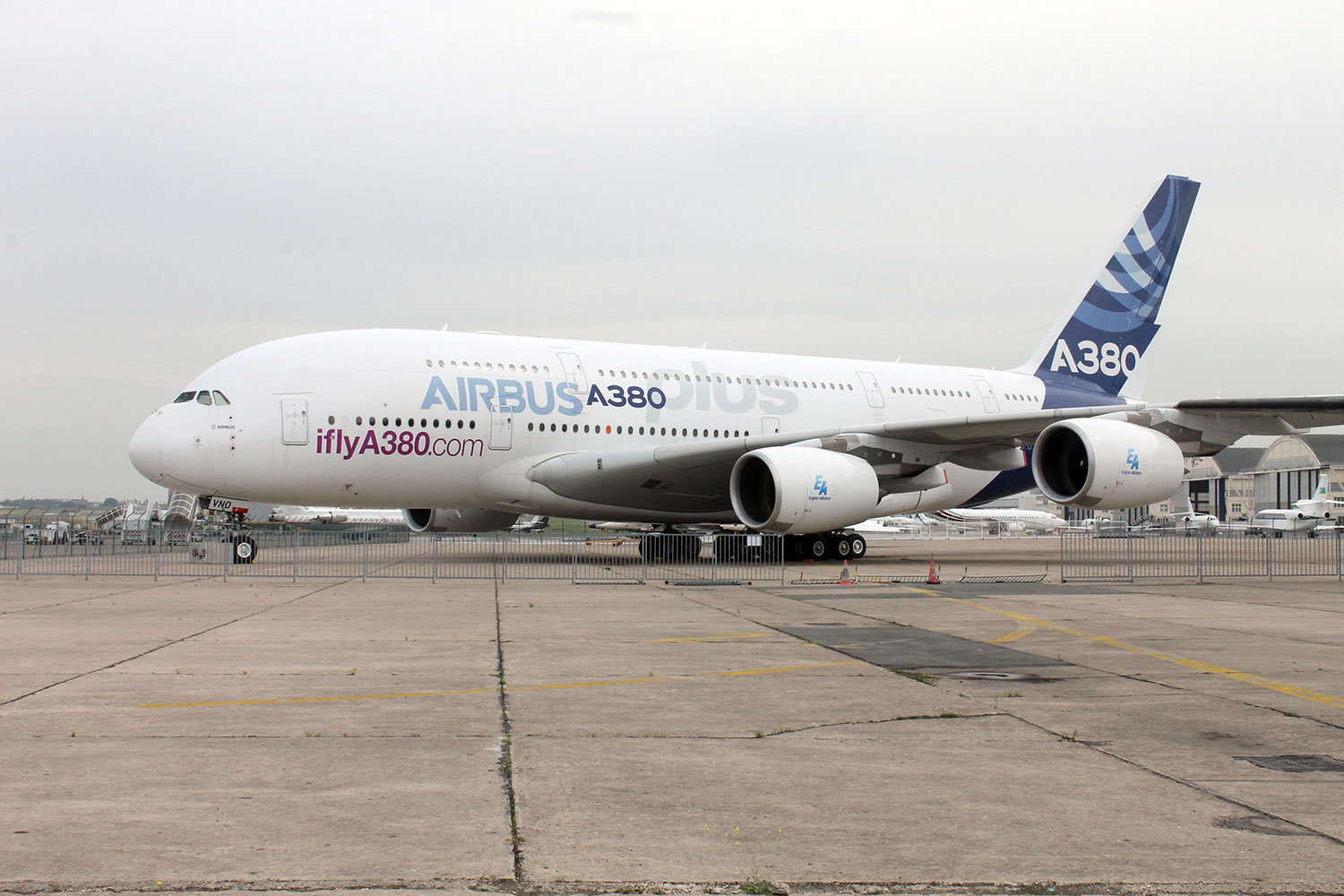 Le Bourget Airbus A380