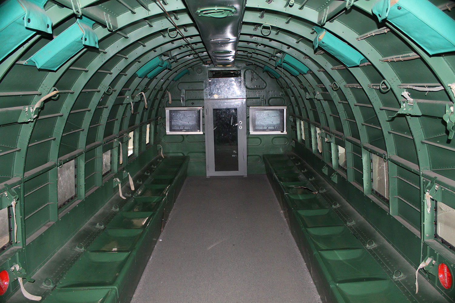 Inside C-47 at Paris Le Bourget
