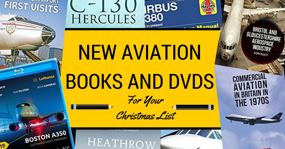 New Aviation Books and DVDs for your Christmas List