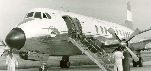 austrian airlines viscount