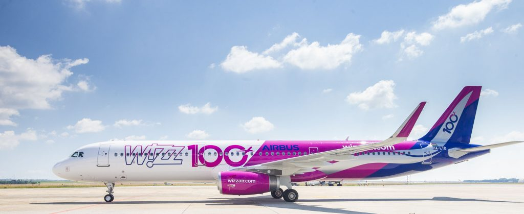 Wizz Air 100th