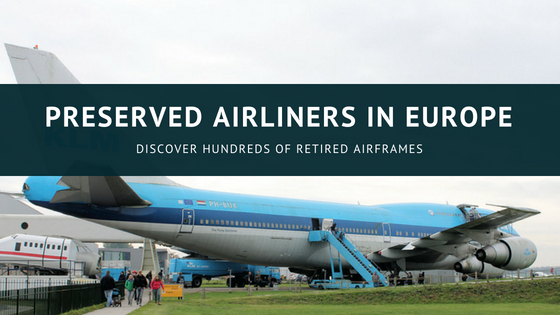 preserved airliners of europe