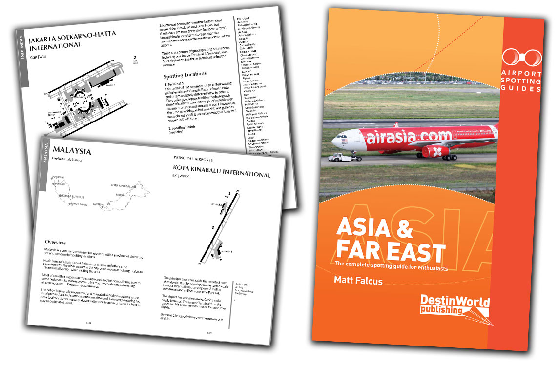 airport spotting guides asia