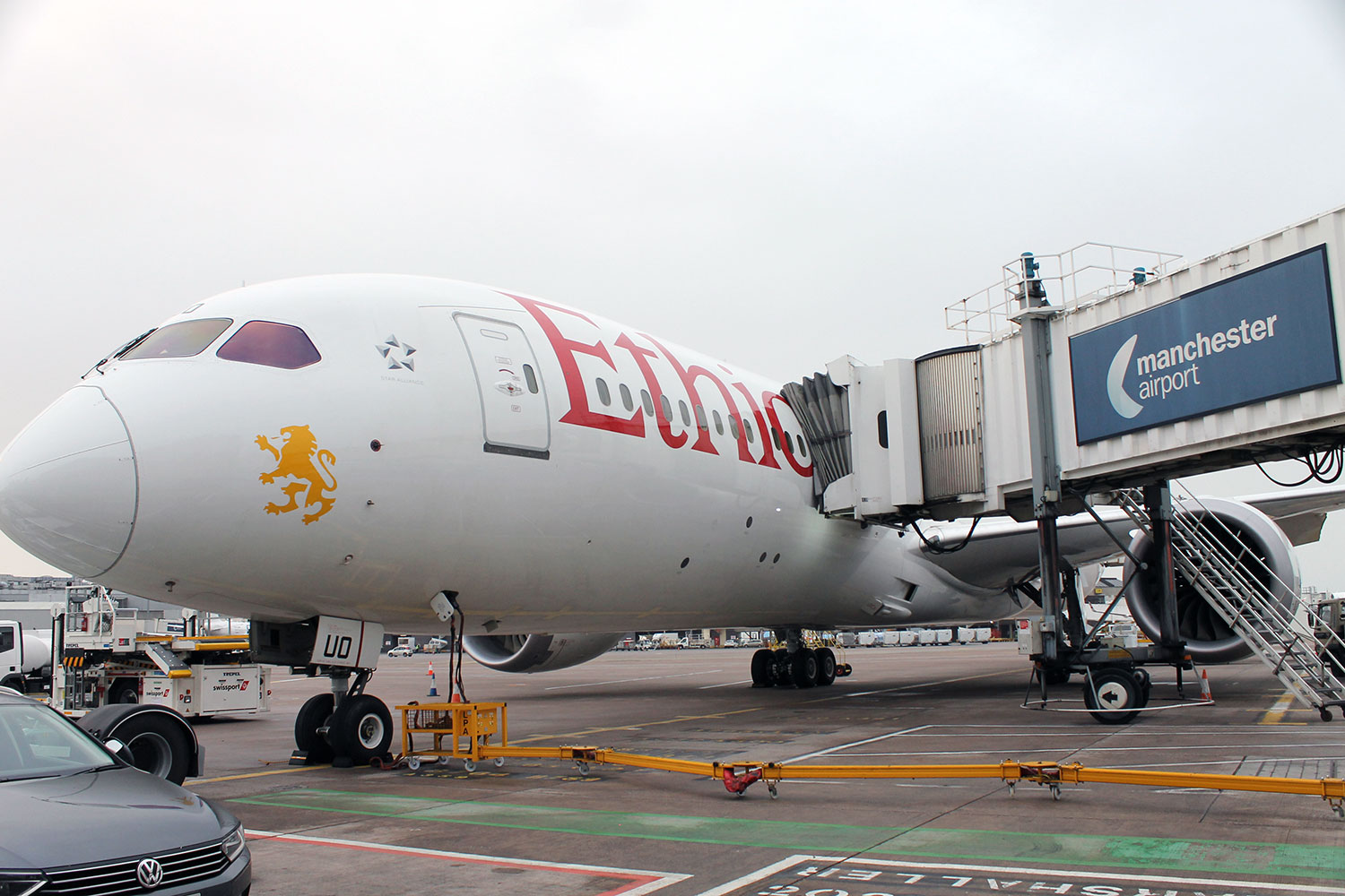 ethiopian airlines manchester
