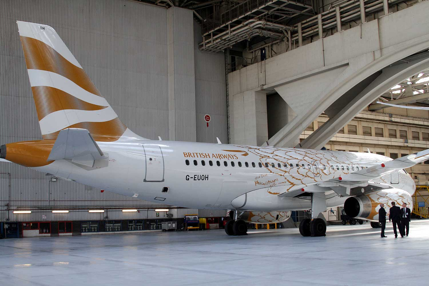 A Closer Look At The 787 In Ba S Expanded Heathrow Hangar