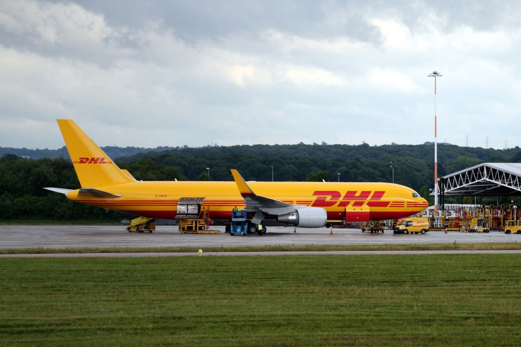 DHL 767 at East Midlands