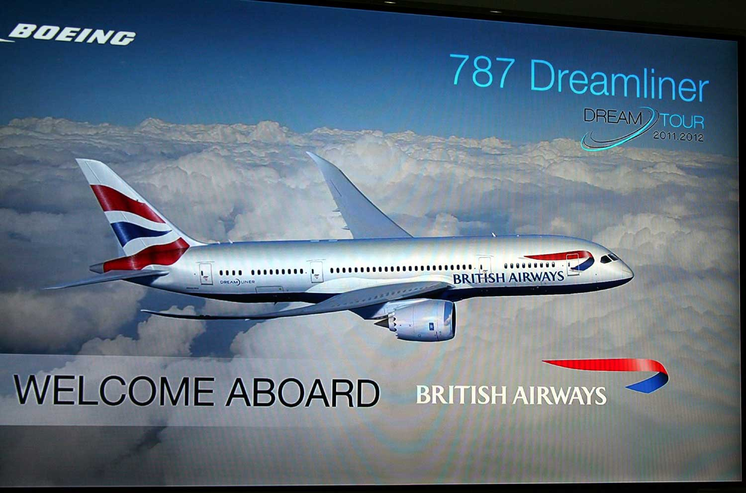 British Airways 787