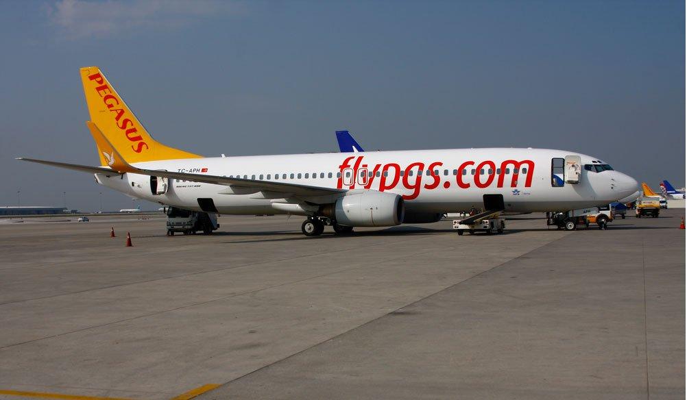 Pegasus 737 (c) Pegasus Airlines