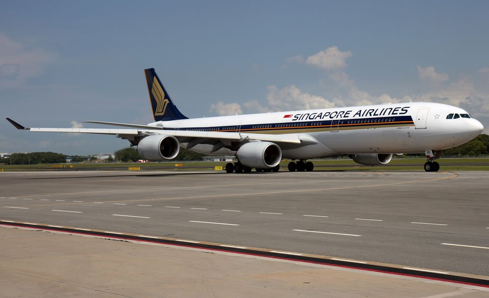 Singapore Airlines A340 (c) Singapore Airlines