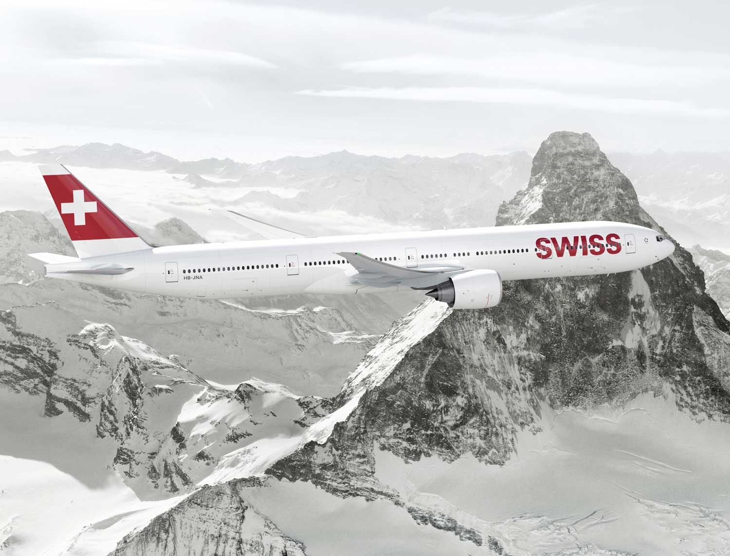 Swiss International Boeing 777-300ER (c) Swiss International Air Lines Ltd