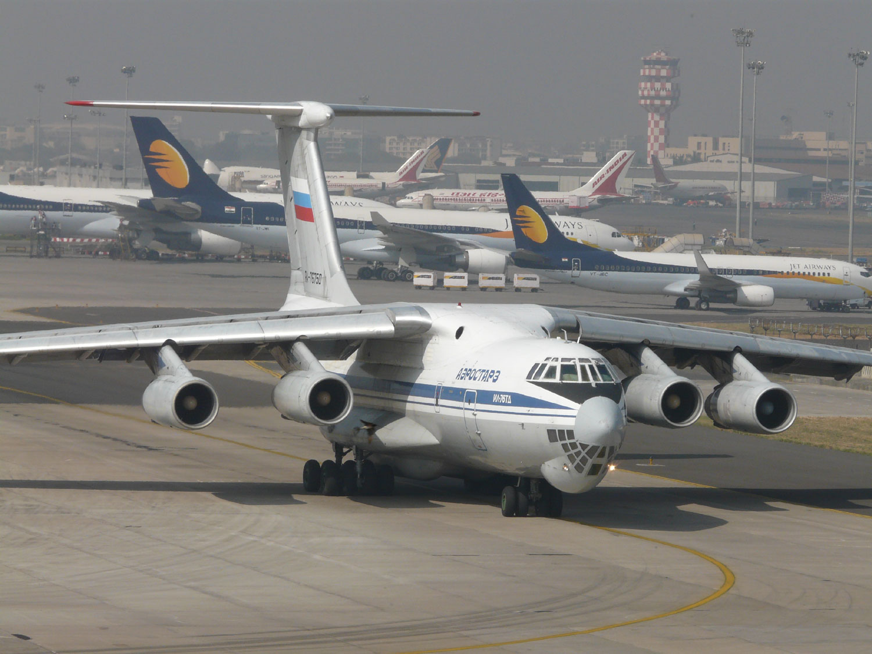 Mumbai IL-76 Cargo
