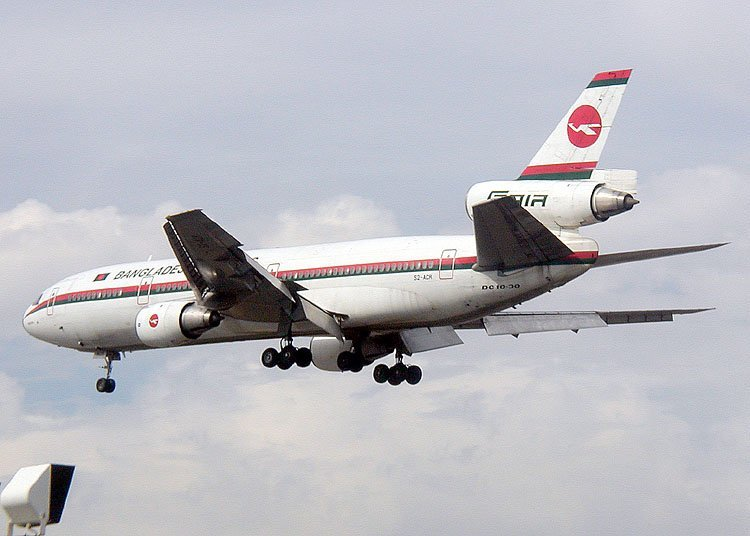 Bangladesh Biman DC10
