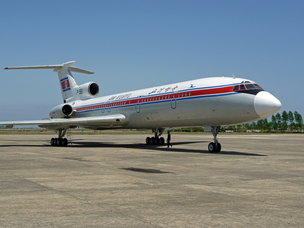 P-561 Tu-154 North Korea