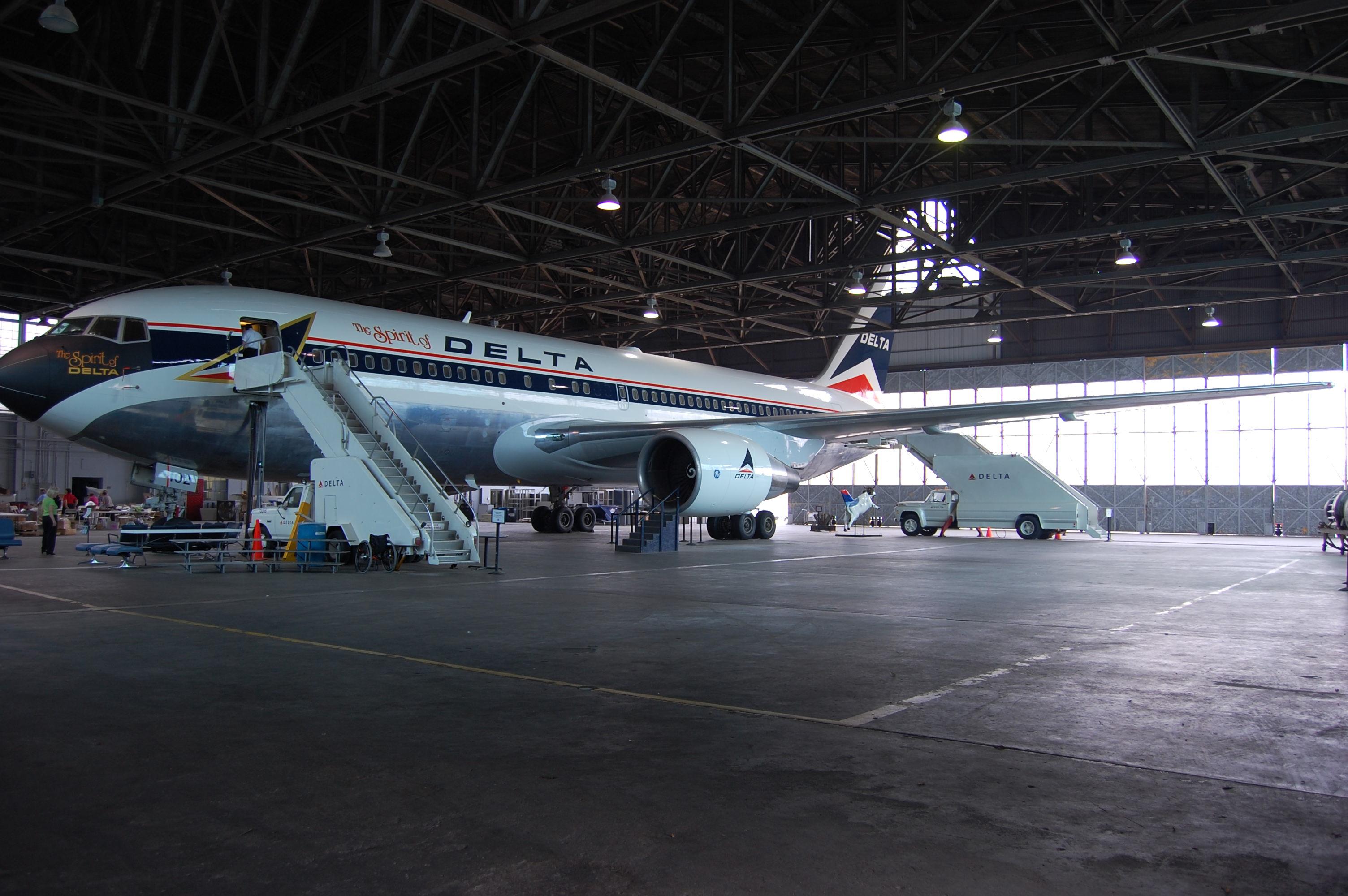 The Spirit of Delta Boeing 767