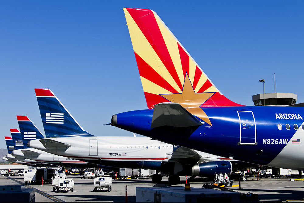 Airlines USA - Peter Van Dyke PHX Spotters
