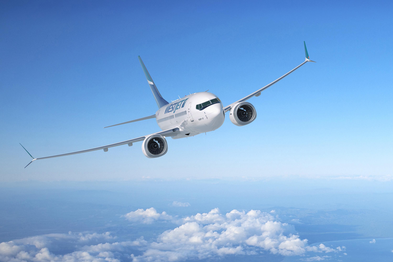 Westjet 737-MAX7 Artwork
