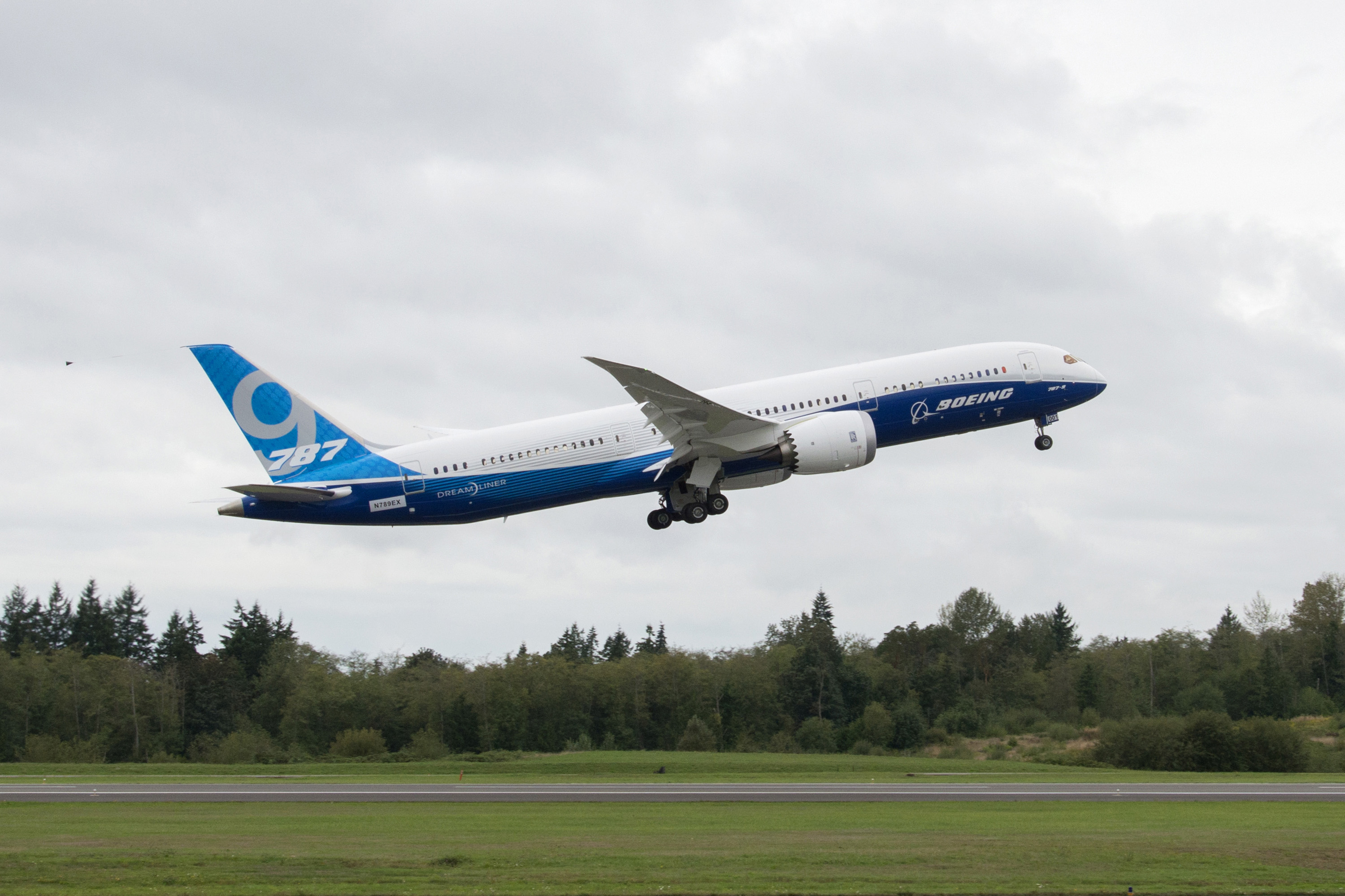 787-9 First Flight