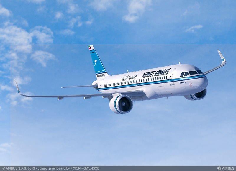 A320neo Kuwait Airways