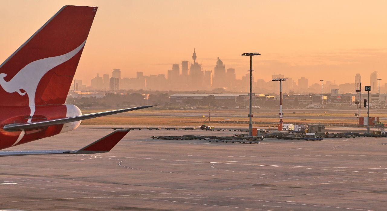 Qantas at Sydney