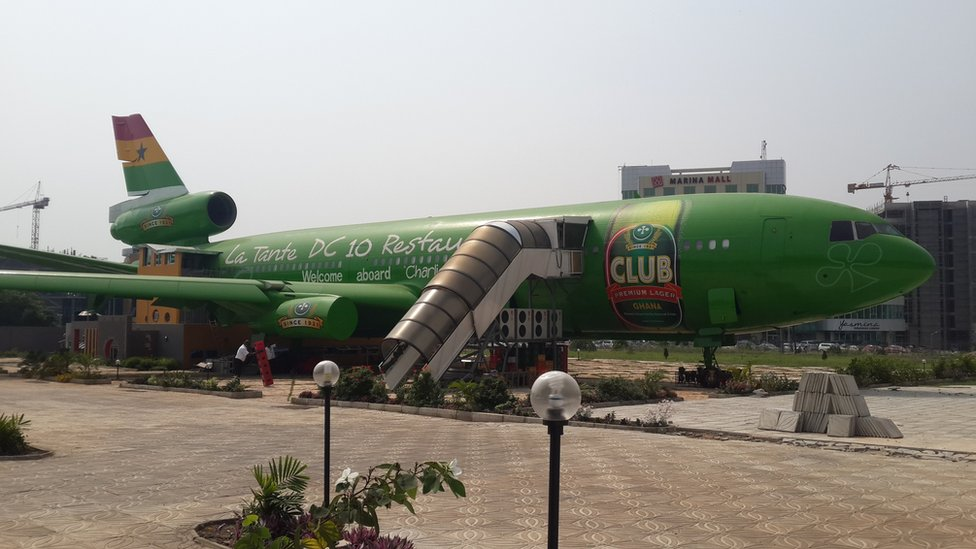 Ghana DC-10 Restaurant