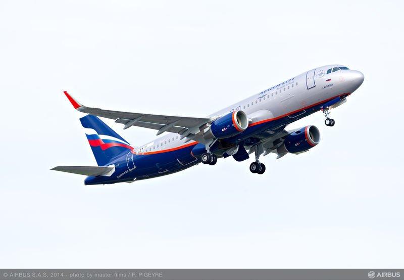 Aeroflot Sharklet A320