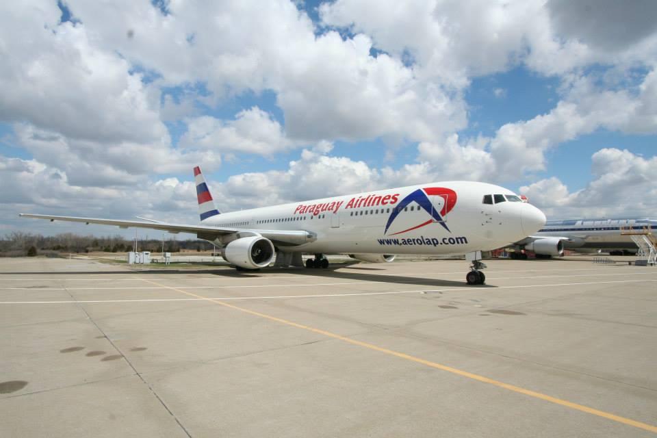 AeroLap Paraguay 767-300 (c) AeroLap