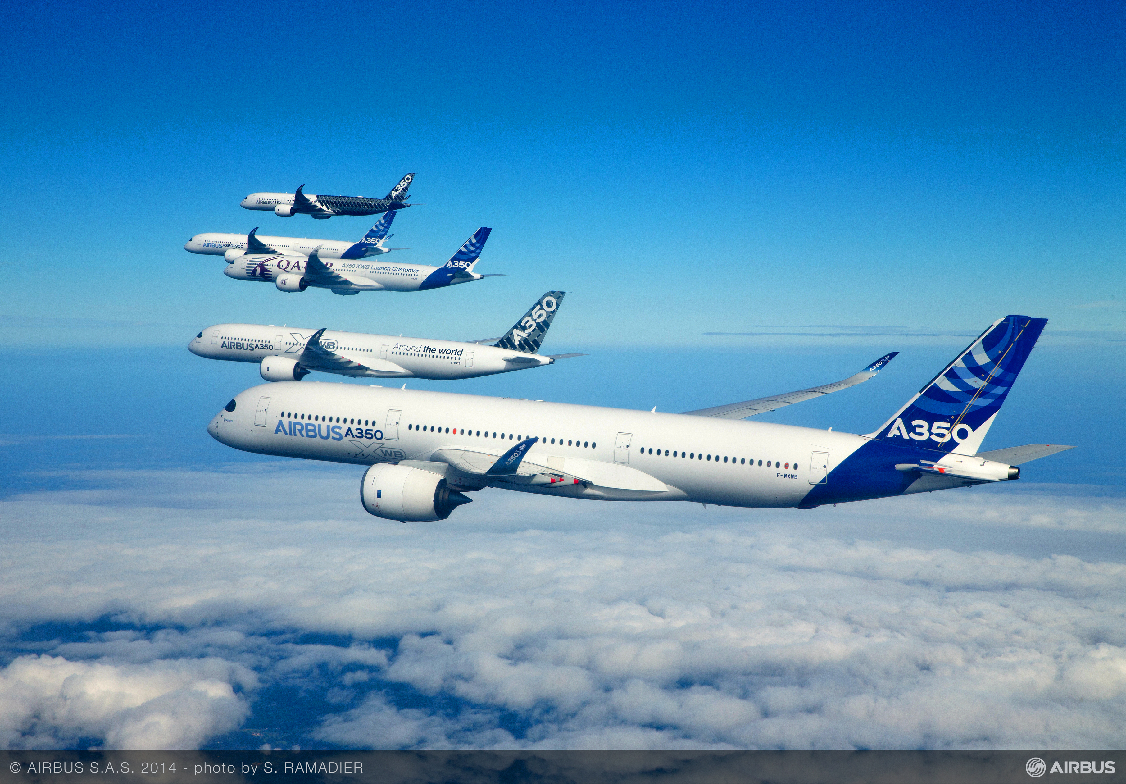 Airbus A350 Routes