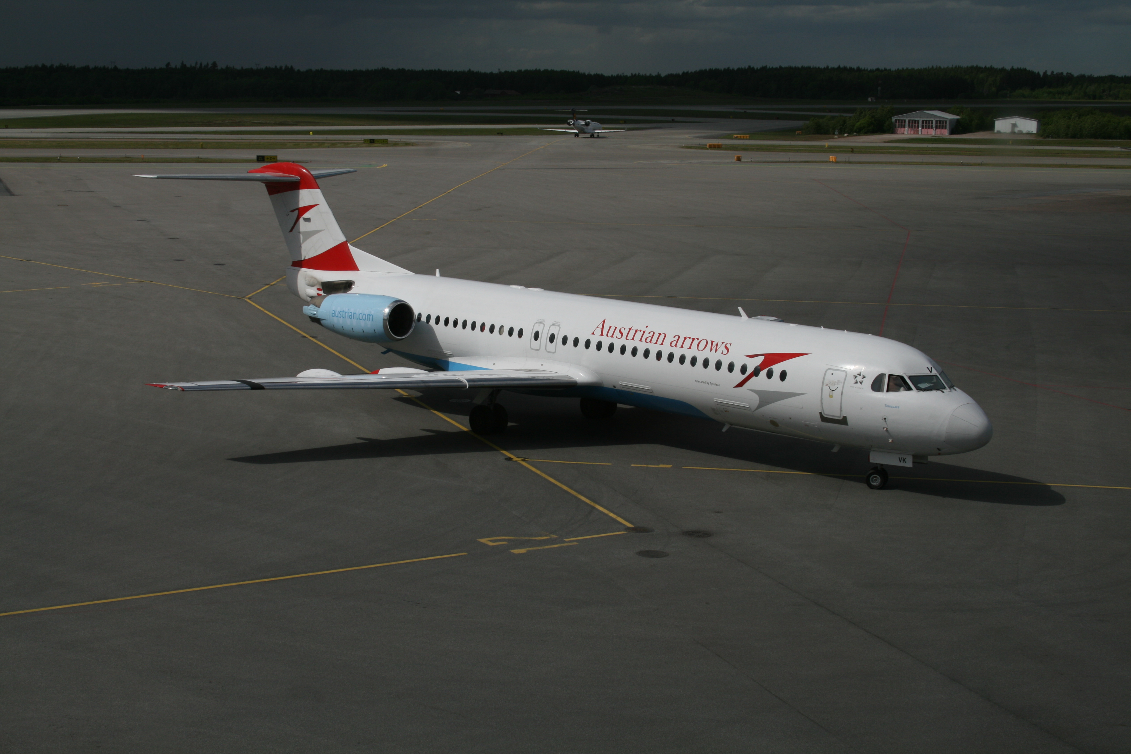 Austrian Fokker 100