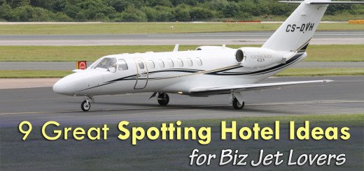 Spotting Hotel Biz Jets