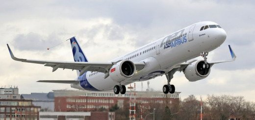 A321neo First Flight