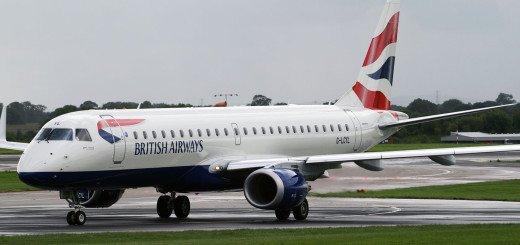 BA CityFlyer Embraer 190