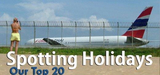 Top 20 Spotting Holidays