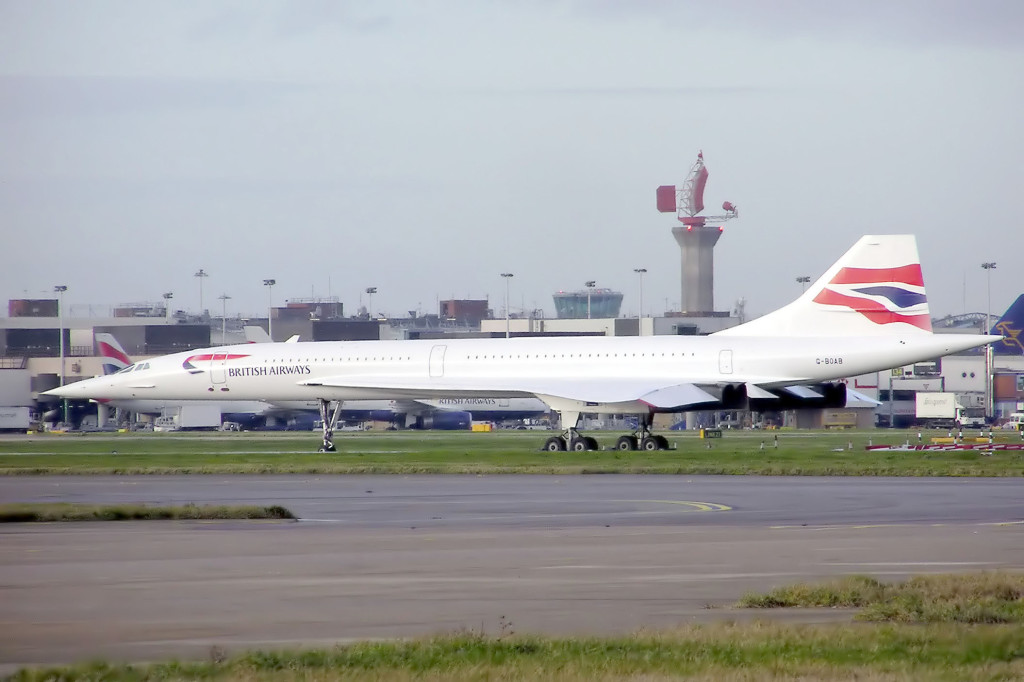 G-BOAB Heathrow Concorde