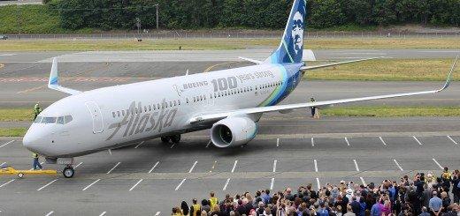 Alaska Boeing 100th Anniversary
