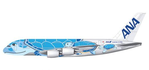 ANA Flying Honu A380