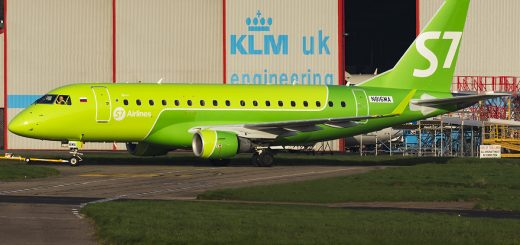 S7 Airlines Embraer