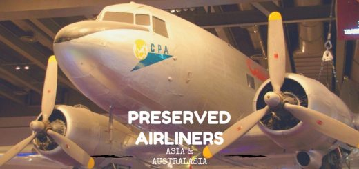 Preserved Airliners Asia